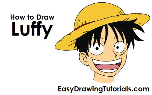 How to Draw Monkey D. Luffy