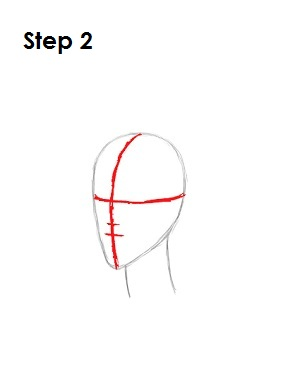 How to Draw Maleficent Step 2