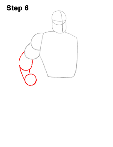 How to Draw Mr. Incredible Bob Parr 6