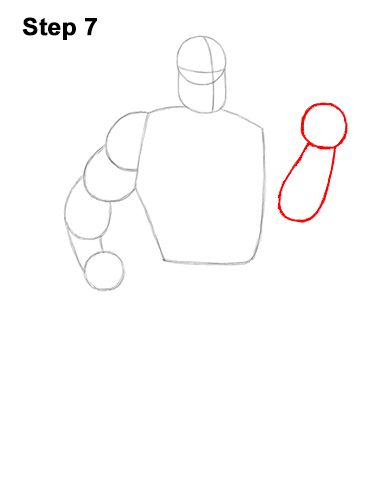 How to Draw Mr. Incredible Bob Parr 7