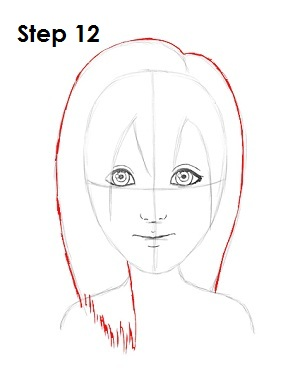 Draw Namine Step 12
