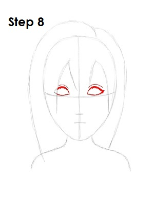 Draw Namine Step 8