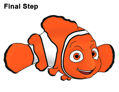 Draw Finding Nemo