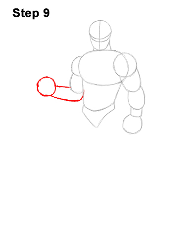 How to Draw Omega Skin Fortnite Battle Royale 9