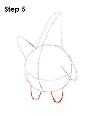 Draw Patrick Star Step 5