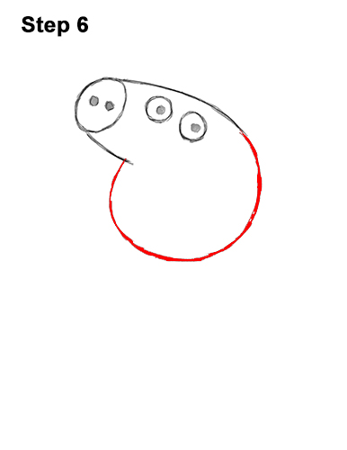 How To Draw Peppa Pig With Step By Step Pictures