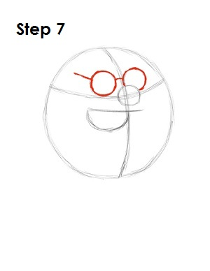 How to Draw Peter Griffin Step 7