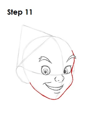 How to Draw Peter Pan Step 11