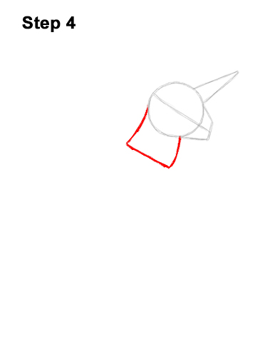 How to Draw Fortnite Rainbow Smash Pickaxe Unicorn 4
