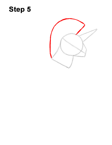 How to Draw Fortnite Rainbow Smash Pickaxe Unicorn 5
