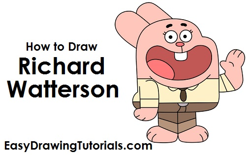 How to Draw Richard Watterson