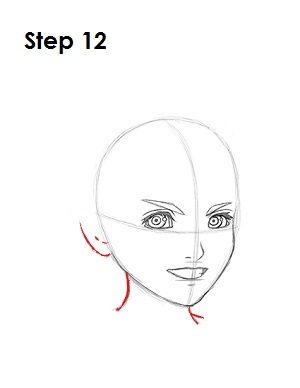 How to Draw Roxas Step 12
