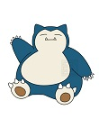 How to Draw Snorlax Sitting Waving Pokemon
