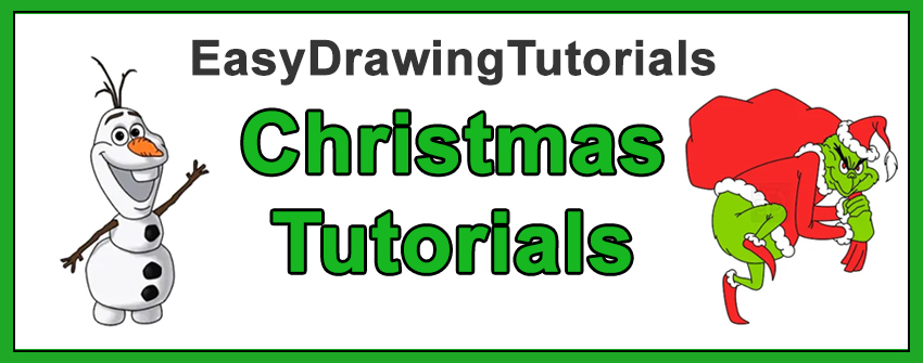 How to Draw Christmas Characters Cartoons