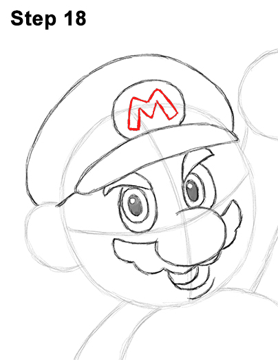 Draw Super Mario Bros. Nintendo 18