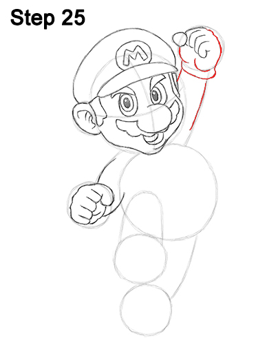 Draw Super Mario Bros. Nintendo 25