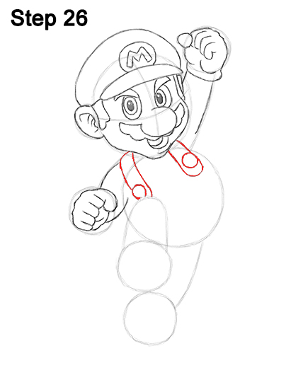 Draw Super Mario Bros. Nintendo 26