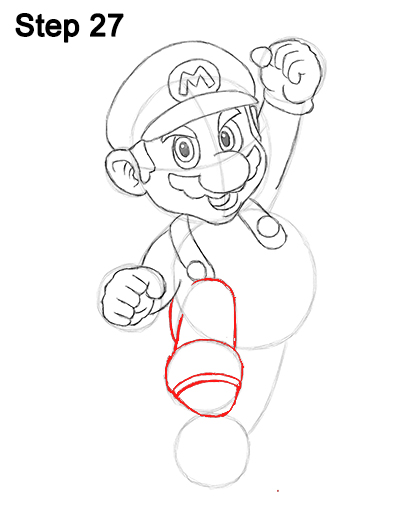 Draw Super Mario Bros. Nintendo 27