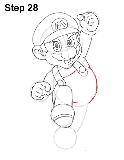 Draw Super Mario Bros. Nintendo 28