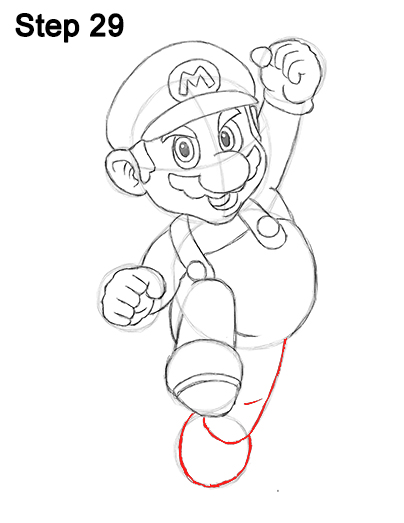 Draw Super Mario Bros. Nintendo 29