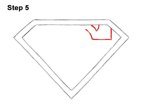 How to Draw the Superman Logo Symbol Icon Emblem 5