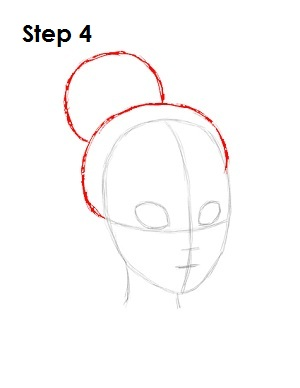 How to Draw Tiana Step 4