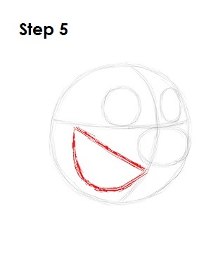 How to Draw Timon Step 5