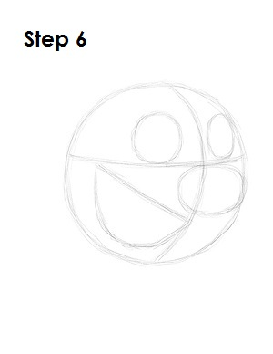 How to Draw Timon Step 6