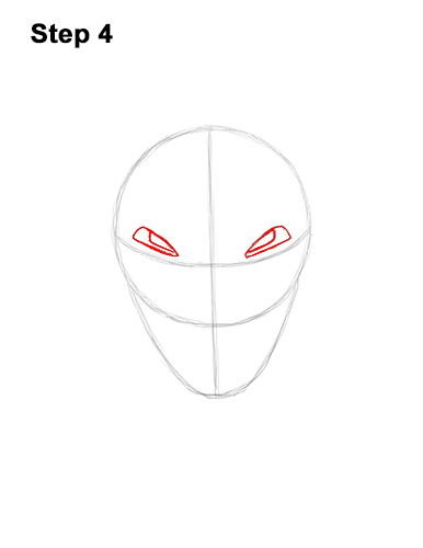 How to Draw Fortnite Vendetta Skin Mask Max 4
