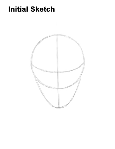 How to Draw Fortnite Vendetta Skin Mask Max Guide Lines