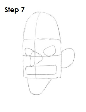 Draw Waluigi Step 7