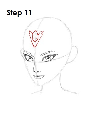 How to Draw Zelda Step 11